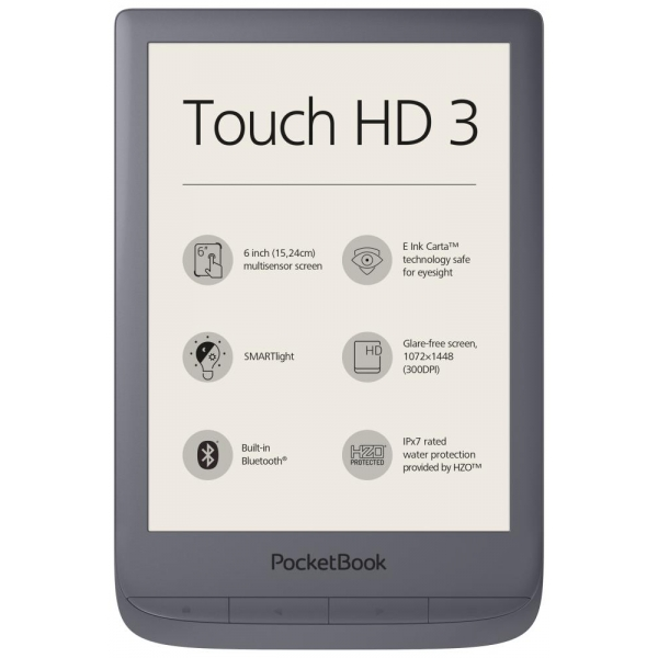 E-luger POCKETBOOK Touch HD 3