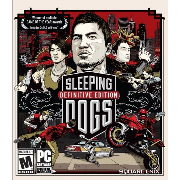 Mäng PC Sleeping Dogs Definitive Edition