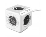 Plug PowerCube, with electric meter, 1,5 m extension