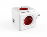 Plugconnector PowerCube Original USB Red