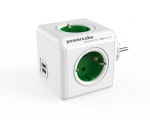 Plugconnector PowerCube Original USB Green