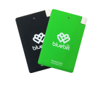 Duubelpakk PowerCard 2x 2500 mAh, Black & Green