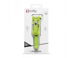 Celly Selfie Stick mini wired, green