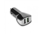 Car Charger Celly 2xUSB 3.4A, black