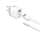 Network Charger Celly USB, 2.4A ,Type-C
