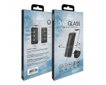 Screen safety glass Eiger 3D 360 iPhone X black transparent