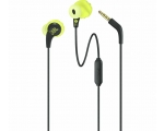 Wire sport headphones JBL ENDURANCE- yellow