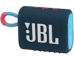 Portable speaker JBL GO 3, blue / pink
