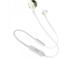 Wireless In-ear headphones JBLT205BT-white/gold