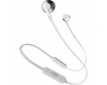Wireless In-ear headphones JBLT205BT-white/silver