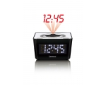 Clock radio LENCO CR-16 with projector