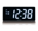 Clock radio LENCO CR-30 white - large numbers