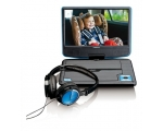 Portable DVD player LENCO DVP-910BU - blue