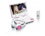Portable DVD player LENCO DVP-910PR - rose