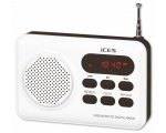 Portable radio LENCO IMPR-112 - white