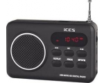 Portable radio LENCO IMPR-112 - black