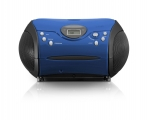 Boombox Lenco SCD24, blue/black