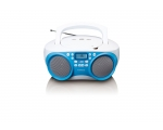 Boombox CD MP3 SCD-301-blue