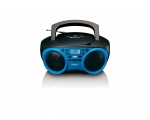 Boombox LENCO SCD-501 with bluetooth -blue