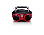 Boombox LENCO SCD-501 with bluetooth -red