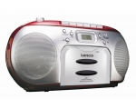 Boombox Lenco SCD-420-red