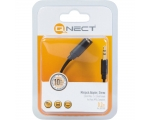 Adapter QNECT 3,5mm isa - 2x3,5mm ema 0,2m