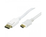 DisplayPort Cabel QNECT 301871 DP male - HDMI female 2m