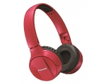 Wireless On-ears headphones  Pioneer SE-MJ553BT-R-red