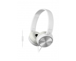Noise canceling headphones Sony MDR-ZX110NA, white