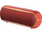 Portable wireless speaker Sony SRS-XB22R.CE7, red