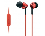 In-ear headphones Sony MDREX110APR.CE7-red