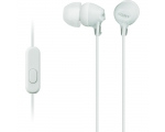 In-ear headphones with microphone Sony MDREX15-white