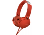 On-ears headphones Sony MDRXB550APR.CE7-red