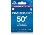 Card SONY PSN 50 EUR