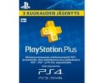 Kaart SONY PSN Plus 3 kuud