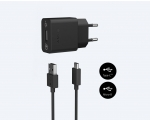 Network Charger Sony microUSB Type-C QC PE+