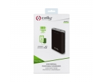 Powerbank Celly 10000 mAh 2USB, 2,4A black