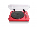 Vinyl disc player LENCO L85R red