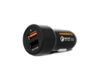 Car charger HAMMER Express 30W, black