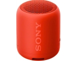 Portable wireless speaker Sony SRSXB12R.CE7, red