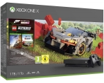 Konsool XBOX ONE X 1TB BLACK + FORZA H4/LEGO SPEED