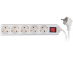 Extension cord SC ELECTRIC 8630P, 5 slots; 1,5m; with switch