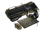 Keyboard+headphones+mouse  CANYON ARGAMA 4in1 set