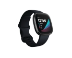 Nutikell FITBIT Sense, must /grafiithall teras