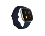 Smart watch FITBIT Versa 3, navy/gold