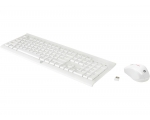 Keyboard+mouse  HP C2710 white EST