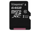 Mälukaart KINGSTON Micro SDXC 64GB Class 10
