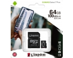 Карта памяти KINGSTON Micro SDXC 64GB Class 10