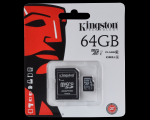 Mälukaart KINGSTON 64GB  Class10 UHS