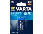 Patarei VARTA LongLife Power 9V/6LR61